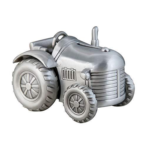 DAMAI STORE Metal Creativo Pequeño Tractor De Cuatro Ruedas Hucha Sembradora Cambio Hucha Muebles Decoraciones Regalos For Niños