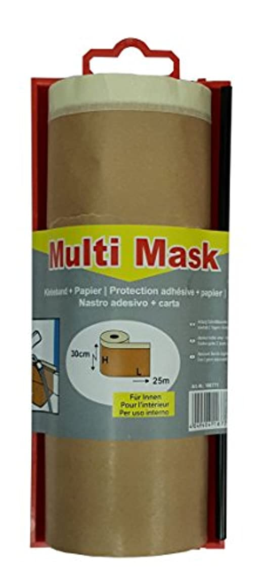 Jufol Masking Paper Tape?–?30?cm x 25?m?–?for Indoor use, 1?Piece, 106771