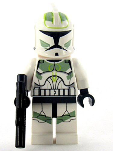 Lego Star Wars Clone Trooper Clone Wars with Sand Green Markings by LEGO