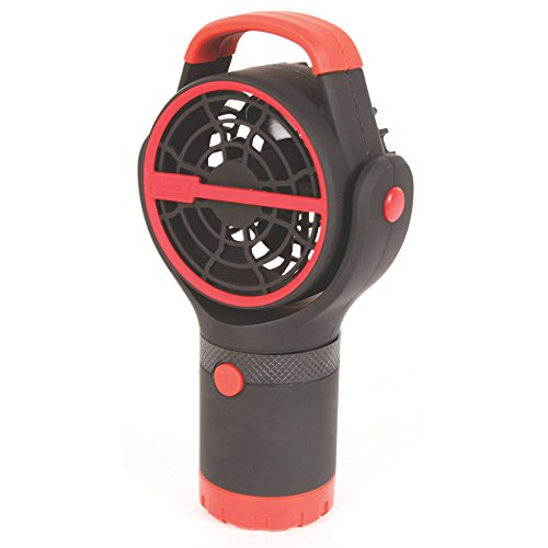 Coleman Zephyr Cup Holder Fan with Battery Lock