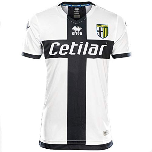 Errea 2019-2020 Parma Home Football Soccer T-Shirt Jersey (Kids)