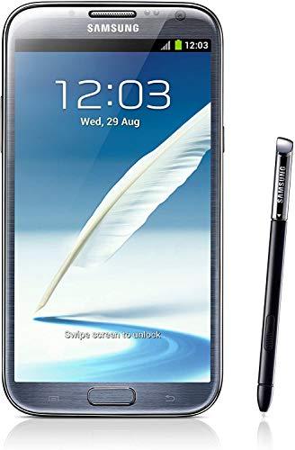 Samsung Galaxy Note II N7100 - Smartphone libre (pantalla táctil HD Super AMOLED de 16 GB, 14 cm (5,5 pulgadas), Quad Core, cámara de 8 megapíxeles, Android 4.1), color gris titanio