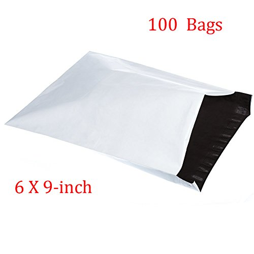 SJPACK Poly Mailers 6x9 Envelopes Shipping Bags With Self Sealing Strip