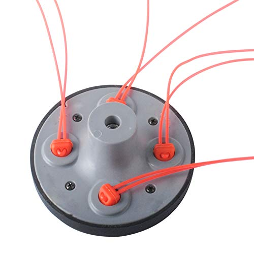 Podoy 55-491 String Trimmer Head for compatible with Pivotrim 55-491 M10x1.25LHF
