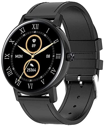 Reloj inteligente 2021 Mujer Fitness Tracker Impermeable IP67 L01 Bluetooth Llamada Smartwatch Monitor de ritmo cardíaco Reloj multideportivo para Android iOS A (Color: D) (B)