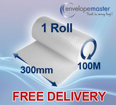 Pluriball piccole BOLLE ROLL 2 x 300mm X 100m