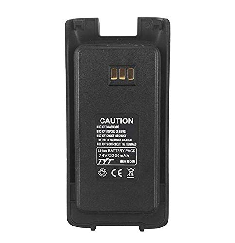 Original 7.4V 2200mAh Battery for TYT DMR MD-390 MD-UV390 GPS MD-UV390 Lithium Battery Replacement, Digital Mobile Radio Two Way Radio Walkie Talkie Ham Transceiver