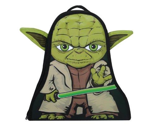Star Wars - Mochila con Forma de Yoda, Color Verde (Neat-Oh