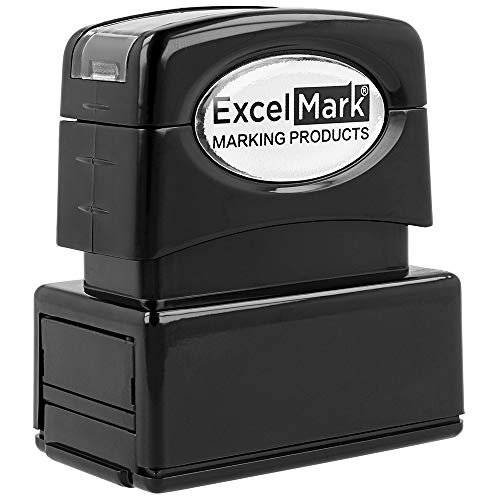 Custom Pre Inked Stamp – ExcelMark (XL3-75E)