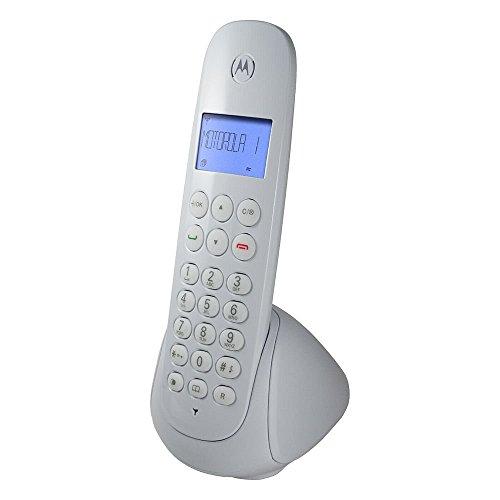 Telefone sem Fio Moto700W Dect 6. 0 Digital com Identificador de Chamadas, Motorola, 3302451, Branco