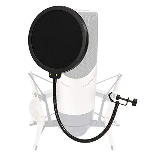 Moukey Filtro Antipop 6 Pulgadas para Microfono Blue Yeti/Micrófono...