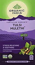 Organic India Green Tea Mulethi