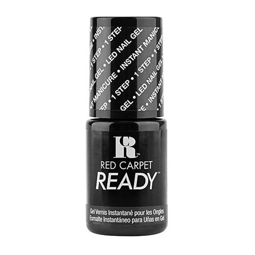 放棄された後ろに刺繍Red Carpet Manicure - One Step LED Gel Polish - Little Black Book - 0.17oz / 5ml