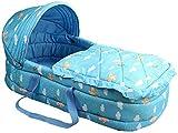 HJTLK Baby Nest,hautfreundliche Kinderbetten Stubenwagen Baby Liege Bett Neugeborenes Reisebett Baby...