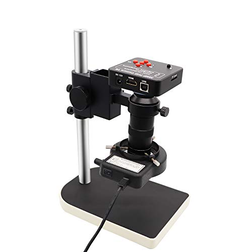 DIYPHONE 38MP Autofocus Industrial Microscope Camera HDMI USB Electronic Microscope Camera Adapter for Phone PCB CPU Soldering Repair Tool