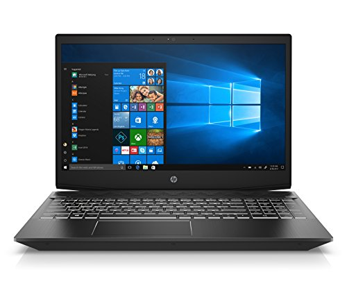 HP Pavilion Gaming 15-cx0004ns - Ordenador Portátil 15.6' FullHD (Intel Core i7-8750H, 8GB RAM, 256GB SSD, Nvidia GeForce GTX 1050-4GB, Windows 10) Color Negro - Teclado QWERTY Español