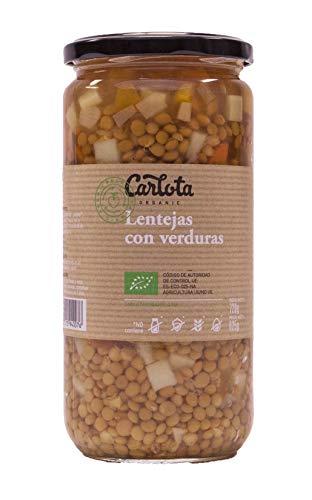 LENTEJAS CON VERDURAS Ecológicas Carlota organic 720gr
