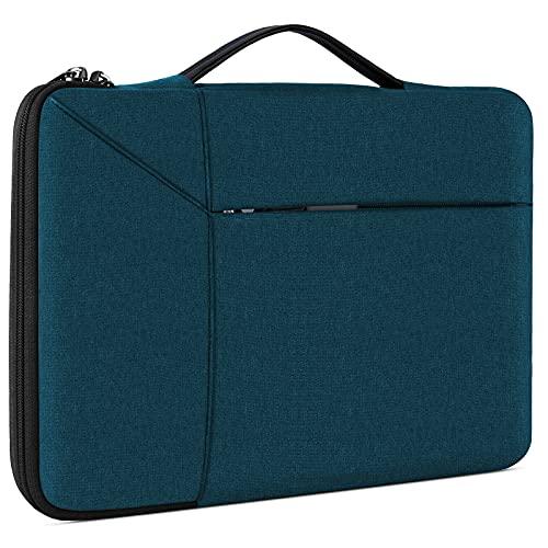 NUBILY Borsa Porta PC 14 Pollici Custodia PC Impermeabile Antiurto Borsa per Laptop Notebook Ultrabook Portatile Ventiquattrore per MacBook Air 13',MacBook Pro 15 Pollici 2019/2018/2017/2016