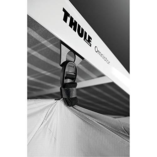 Thule Markisenzelt QuickFit XL Anbauhöhe 265-284cm Wohnwagen Vorzelt Länge 300cm Markisenwand Zelt