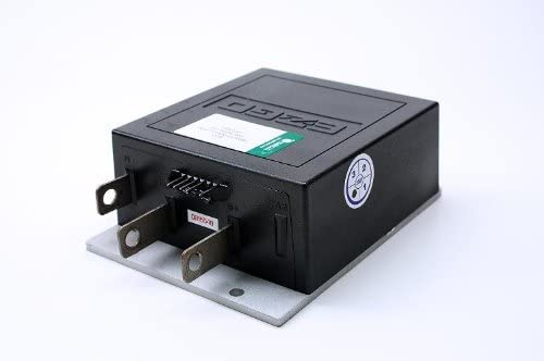 Golf Cart Controller 25864G09, 36 36v Electronic Speed Controller for E-Z-GO Medalist & TXT Models 36-Volt 1206-4301, Upgraded 36 V 350 Amp for Ez-Go, with 2 Year Warranty