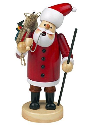 """Räuchermännchen Räuchermann Räucherfigur Rauchfigur """"Weihnachtsmann"""" ca. 18 cm hoch, aus Holz, Weihnachten Advent Geschenk (30109-18)"""