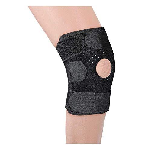 Sywlwxkq Knieschützer, Kniebandage Dedicated Doppelschnalle Verstärkung Kneepad Bewegung Run-Yoga-Tanz Meniskusschaden Knie Warm Halten Protektoren