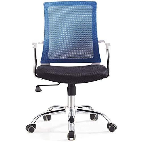 HMBB Sillas de Escritorio, Sillas y sillas taburetes de oficina de Home silla ergonómica, ajustable Silla de oficina altamente ergonómico La comodidad extrema, ventilado malla, soporte lumbar, 3D arma