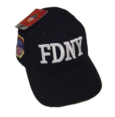 Anti Crime Security Inc. FDNY Gorro de Gorra de béisbol con Licencia Oficial de la Ciudad de Nueva York Departamento de Bomberos