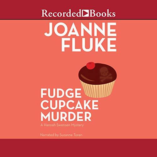 Fudge Cupcake Murder audiobook cover art