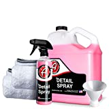Adam's Detail Spray - Quick Waterless Detailer Spray for Car Detailing...