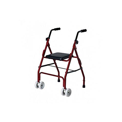Ayudas Dinámicas Qa-00380/20 - Andador De Aluminio ' Mini Roler ' 🔥