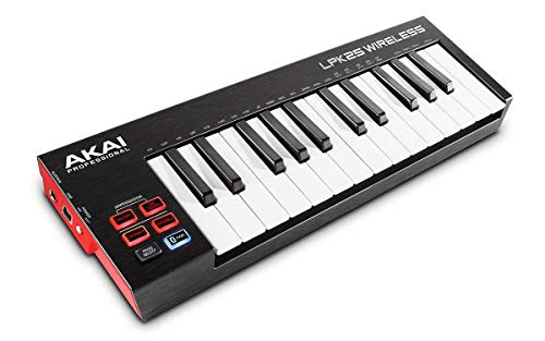 AKAI Professional LPK25 Wireless - Mini Teclado controlador USB MIDI...