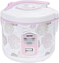 Geepas Electric Rice Cooker, GRC4334 White