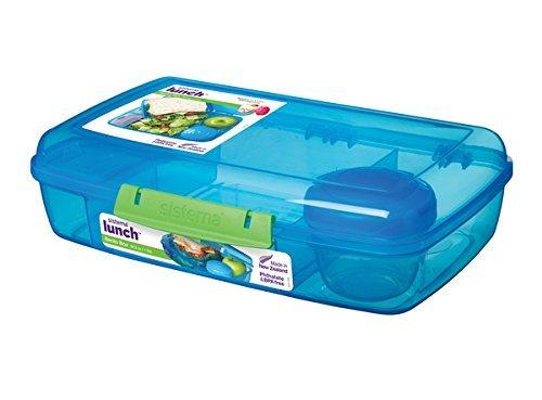 Sistema 5-fach unterteilte XL Lunchbox