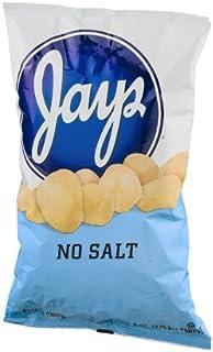 Jays No Salt Potato Chips, 8 oz