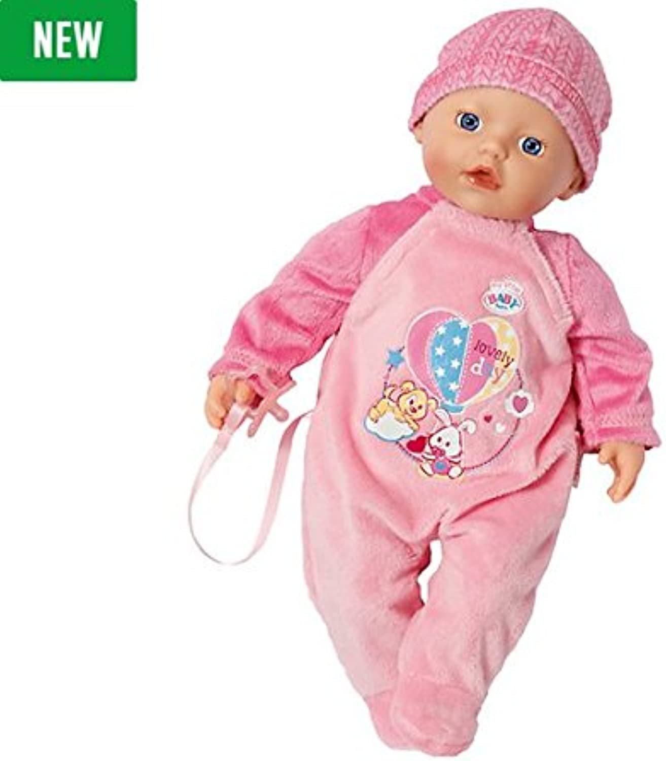 Brand New My Little BABY Born Supersoft Doll with Bed Playset