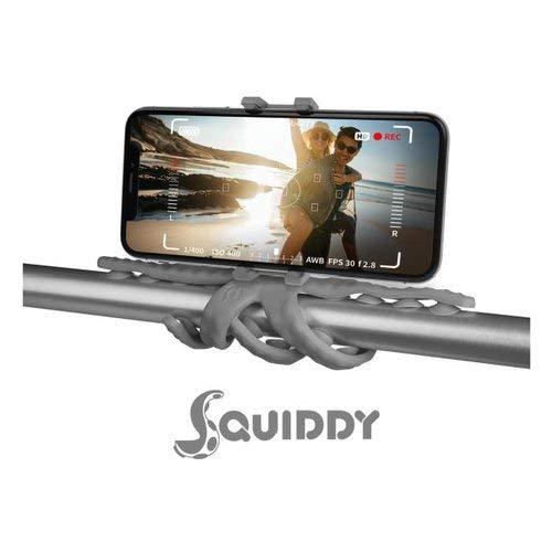 Preisvergleich Produktbild Celly Flexibles Stativ SQUIDDY für Smartphones bis 6, 2 Zoll und Kameras