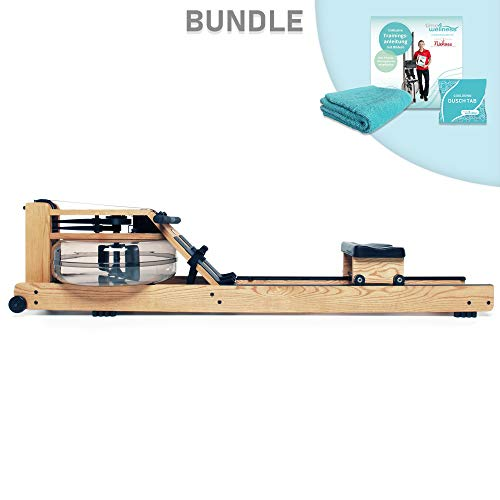 WaterRower Rudergerät Bundle Eiche/Esche/Nussbaum/Kirsche/Shadow/Club / A1 (Esche)