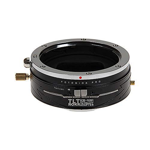 Fotodiox Pro TLT ROKR - Tilt/Shift Lens Mount Adapter for Canon EOS (EF) D/SLR Lenses to Fujifilm Fuji X-Series Mirrorless Camera Body
