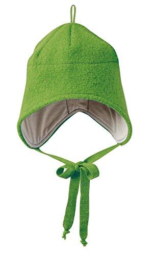 Disana 35309XX - Walk-Mütze Wolle grün, Size / Größe:M