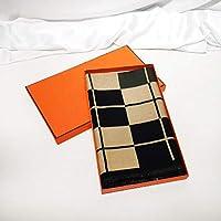 冬のタータンスカーフファッションカジュアルスカーフ冬の女性メンズ厚みのあるカシミヤスカーフ 暖かいスカーフ男性-A