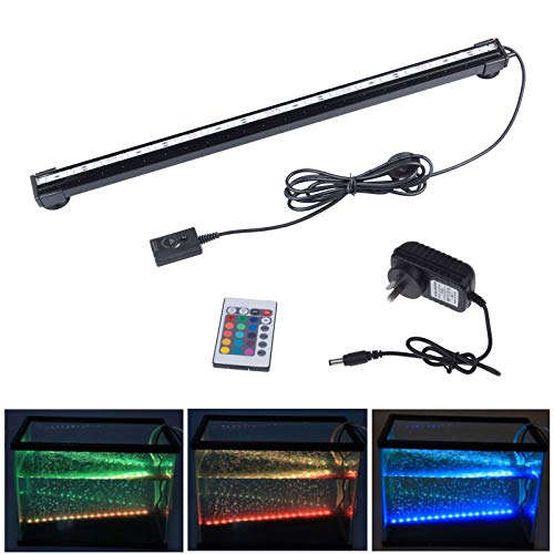 RGB remote aquarium licht waterdichte LED bar licht water lamp submersiblelamp EU-stekker.