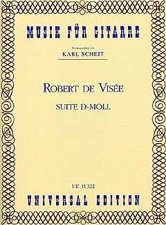 SUITE D-MOLL - arrangiert für Gitarre [Noten / Sheetmusic] Komponist: VISEE ROBERT DE