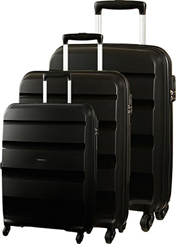 American Tourister  Bon Air, Set di valigie , Black (nero) - 59425
