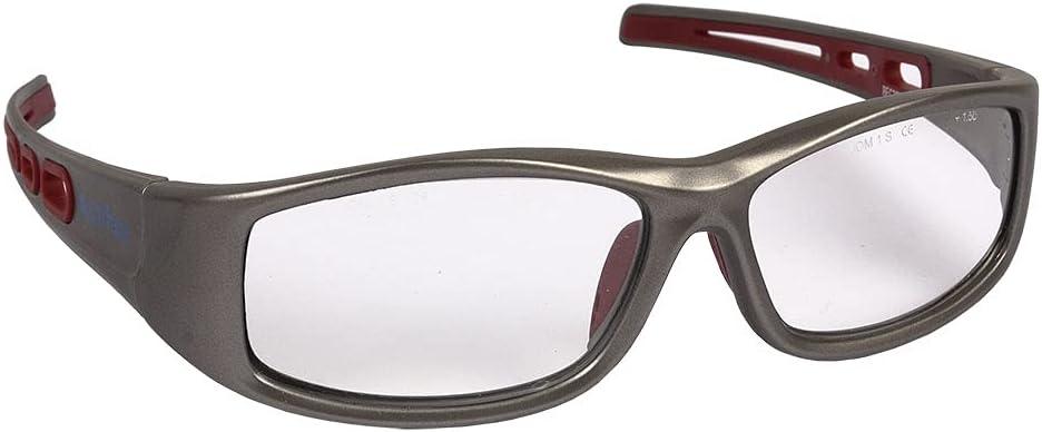 Gafas Graduadas de Seguridad | Monofocal Graduadas con 2,5 Dioptrías | Vigente con normativa EN 166