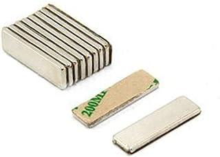 first4magnets magneet, 1,6 kg, noordpol zichtbaar, zelfklevend, N42, neodymium magneet voor ambachtelijke werkzaamheden (1...