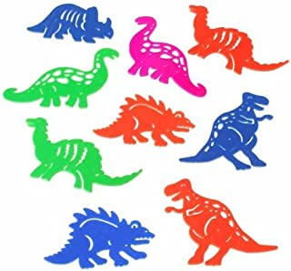 Lot of 48 Assorted Mini Dinosaur Tracer Stencils