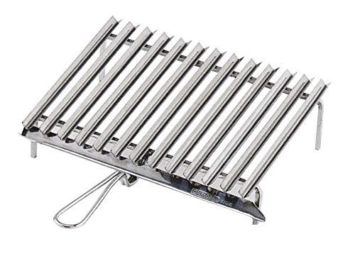 Ompagrill 20640 Graticola Acciaio Inossidabile, Alluminio, 40 x 35 cm