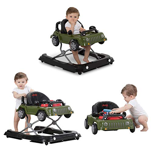 Jeep Classic Wrangler 3 en 1 Grow With Me Walker, Anniversary Green