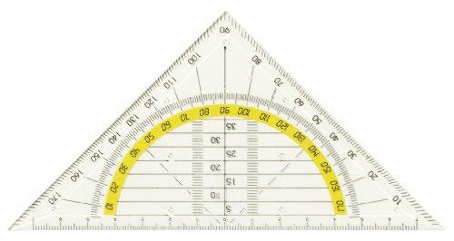 10x Geo-Dreieck Geometriedreieck